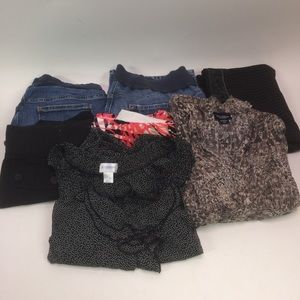 7 Piece Maternity Bundle Size XL Jeans Shorts